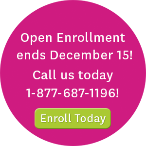 Open enrollment ends December 15! Call us today at 1-877-687-1196 or visit enroll.ambetterhealth.com to enroll today!